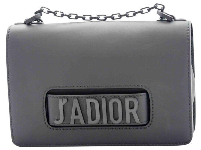 Christian Dior J'adior ultra limit black bag Handbags Leather Black ref.198284