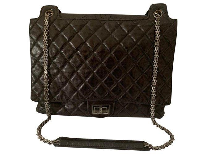 Sacs à main Chanel Chanel Cuir Noir ref.198846