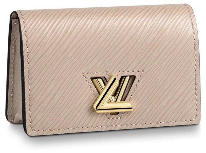 Louis Vuitton Twist multicartes new Purses, wallets, cases Leather Beige ref.199444