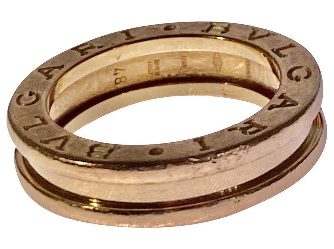 Bagues Bulgari B.zero1 One-band Ring in 18 Kt Yellow Gold Or jaune Jaune ref.204489