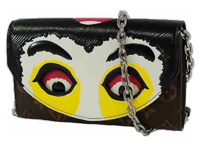 Louis Vuitton chain Wallet portofeuilles chain Womens long wallet M67256 Noir Purses, wallets, cases Other Other ref.205123