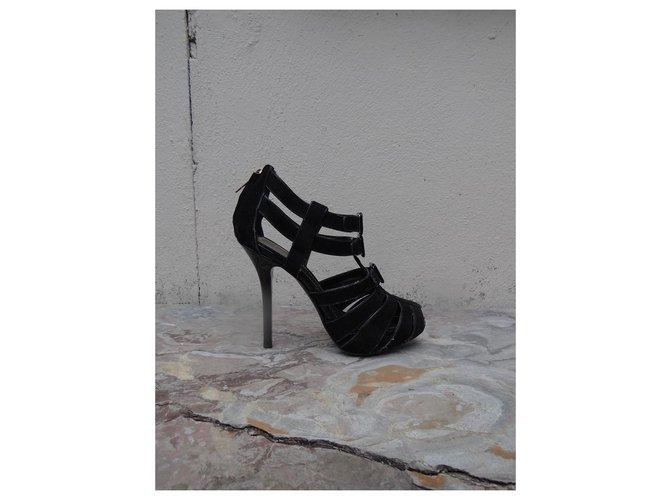 Sandales Dior Des sandales Cuir Noir ref.208204