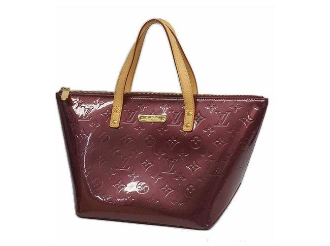 Louis Vuitton LOUIS VUITTON Bellevue PM Verni Womens handbag M93584 Violette Handbags Other Other ref.209767