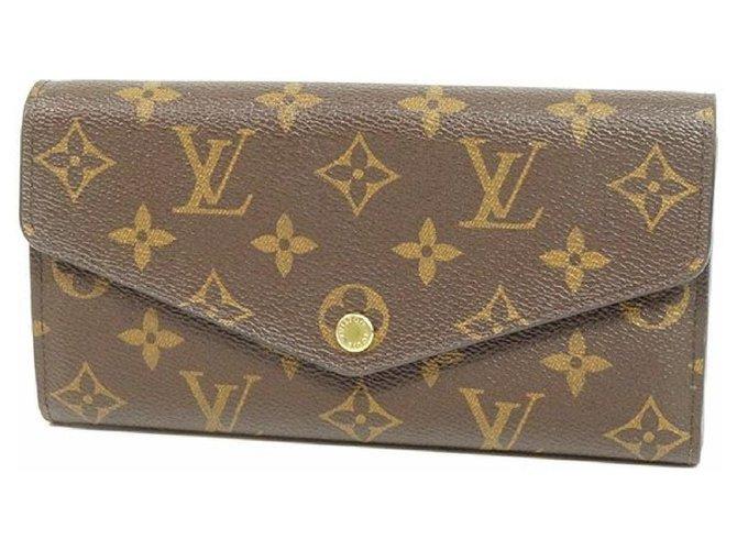 Louis Vuitton Louis Vuitton portofeuilles Sarah Womens long wallet M60531 Purses, wallets, cases Cloth Other ref.209796