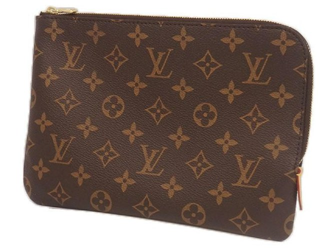 Louis Vuitton LOUIS VUITTON Etui voyage PM Womens pouch M44191 Purses, wallets, cases Cloth Other ref.209819