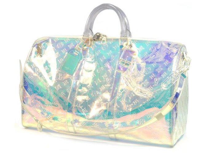 Louis Vuitton Louis Vuitton Keepall Bandouliere 50 unisex Boston bag M53271 Rainbow Travel bag Plastic Other ref.210024