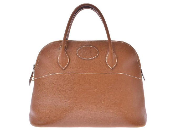 Hermès Hermès Bored Handbags Leather Brown ref.210272