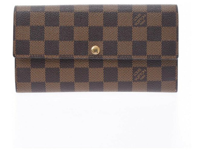 Louis Vuitton Louis Vuitton Sarah Purses, wallets, cases Cloth Brown ref.212487