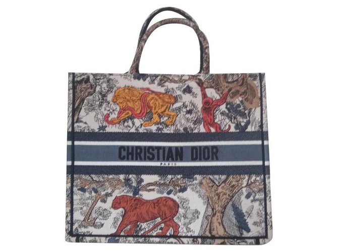 Dior Hand bags Handbags Cloth Multiple colors ref.225991
