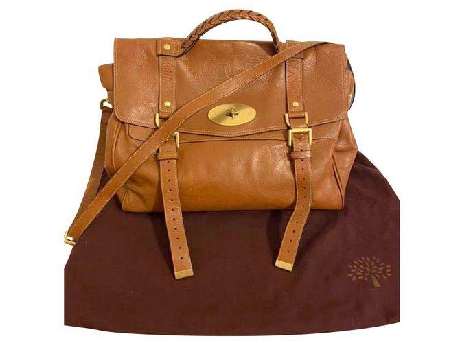 Mulberry Handbags Handbags Leather Caramel ref.213751