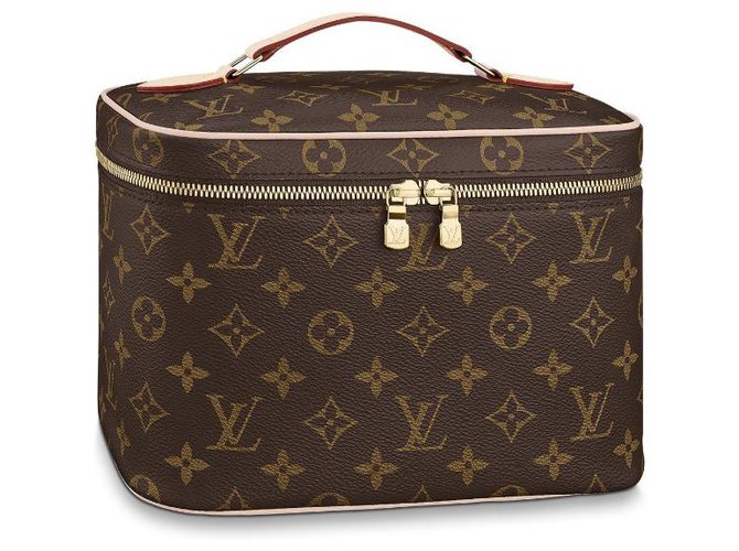 Louis Vuitton LV Nice BB New Purses, wallets, cases Leather Brown ref.214345
