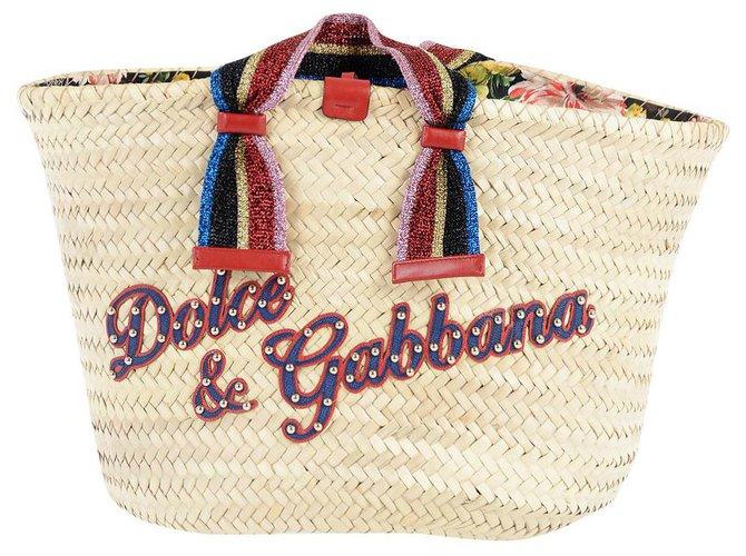 Dolce & Gabbana KENDRA BAG Handbags Other Beige ref.214523