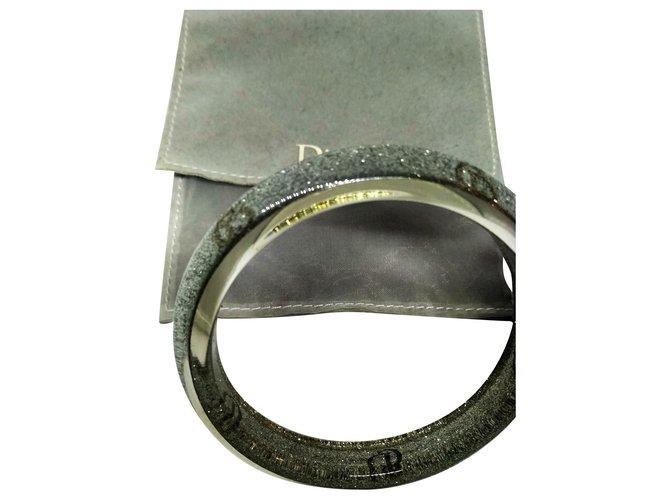 Bracelets Dior Bracelets Toile Argenté ref.215732
