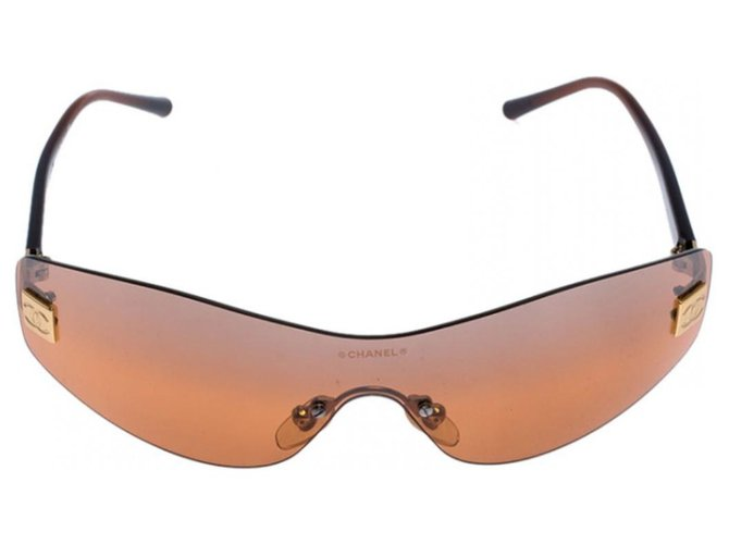 Chanel 4019 Sunglasses Other Brown ref.215948
