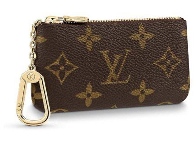 Louis Vuitton Purses, wallets, cases Purses, wallets, cases Leather Brown ref.216633