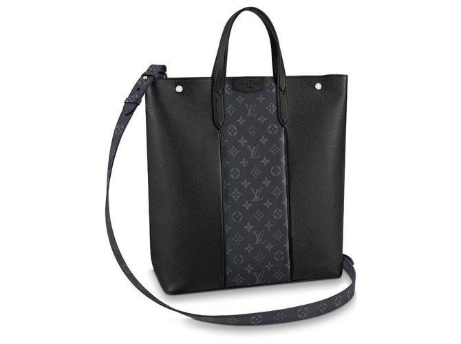 Louis Vuitton LV Outdoor Tote new Bags Briefcases Leather Black ref.216645