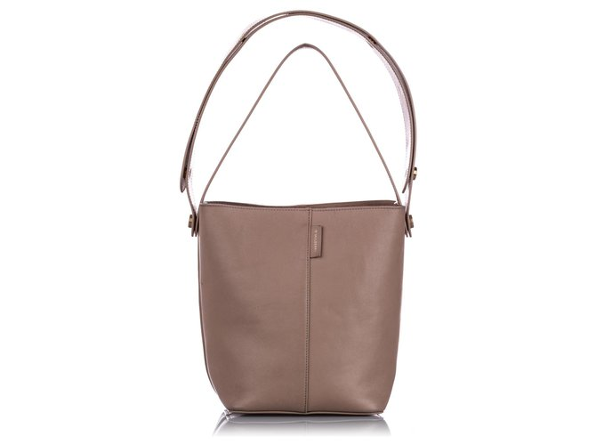 Mulberry Mulberry Brown Small Kite Leather Satchel Handbags Leather,Pony-style calfskin Brown,Beige ref.223989