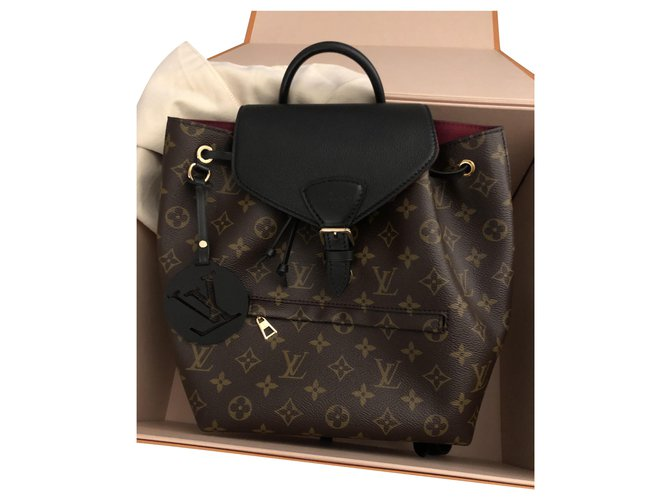 Louis Vuitton LV Montsouris PM new Backpacks Leather Other ref.224852