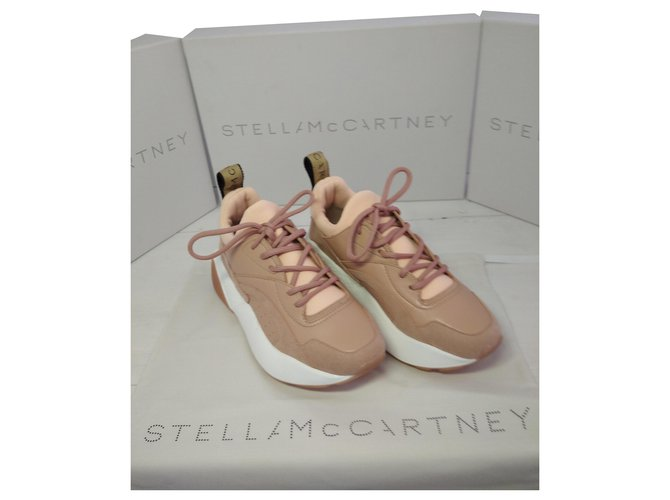 Stella Mc Cartney sneakers eclypse Sneakers Other Pink ref.226150
