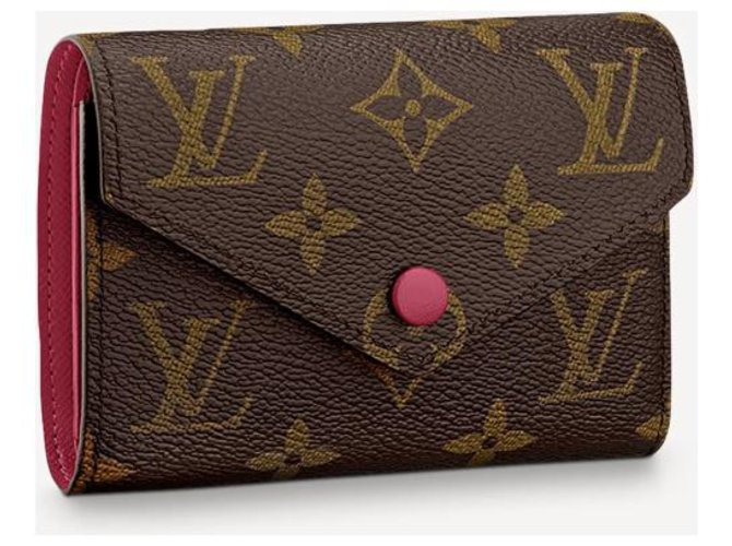 Louis Vuitton LV Victorine new Wallets Leather Brown ref.226692
