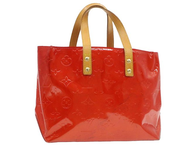 Louis Vuitton Louis Vuitton Reade Handbags Patent leather Red ref.226863
