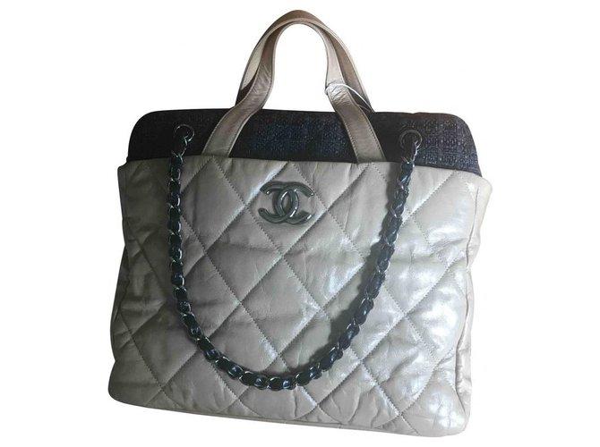 Chanel Handbags Handbags Lambskin Beige ref.228236