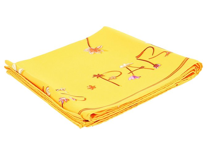 Hermès Hermès Carre Purses, wallets, cases Silk Orange ref.229212