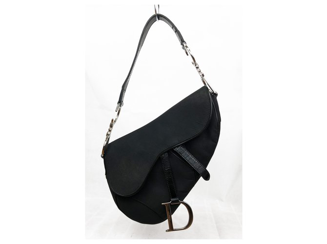 Dior Handbags Handbags Nylon Black ref.231233