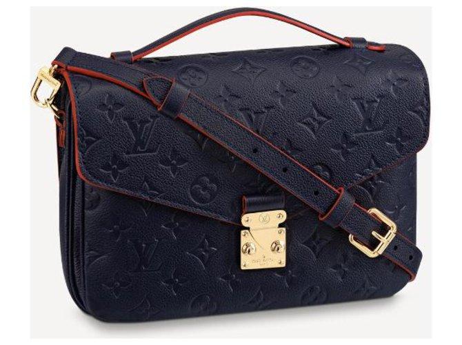 Louis Vuitton LV Metis new Blue Leather  ref.231243