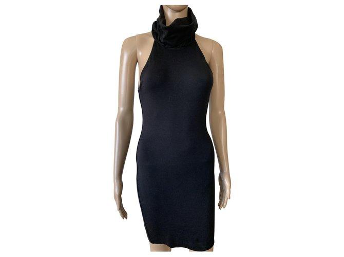 KOOKAÏ Dresses Black Cotton  ref.231818