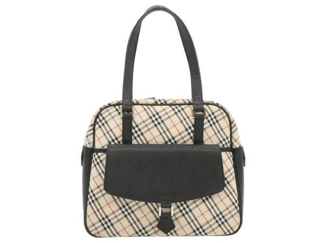 Burberry Burberry handbag Handbags Cloth Beige ref.231898