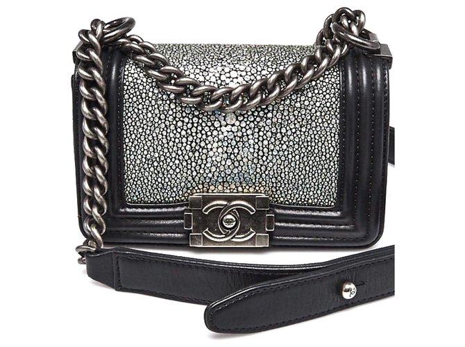 Chanel Handbags Handbags Leather Black ref.233425