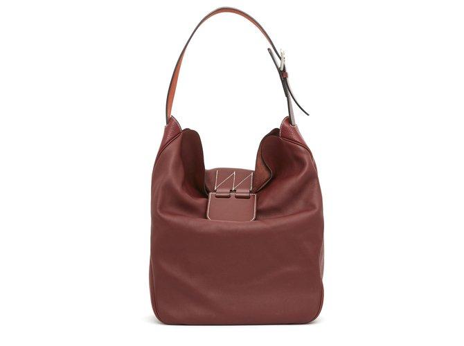 Hermès VIREVOLTE RED Handbags Leather Red ref.234017