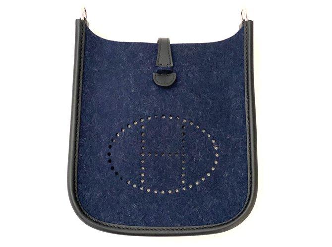 Hermès Evelyne Handbags Other Blue ref.237325