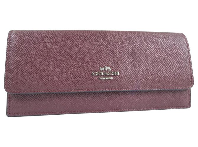 wallets by coach