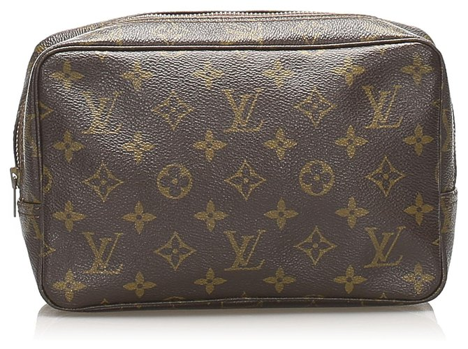 Louis Vuitton Louis Vuitton Brown Monogram Trousse Toilette 23 Purses, wallets, cases Cloth Brown ref.237963