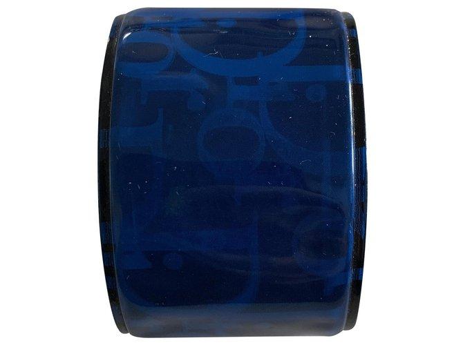 Bracelets Dior Bracelets Plastique Bleu ref.238805