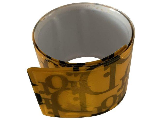 Bracelets Dior Bracelets Plastique Orange ref.238808