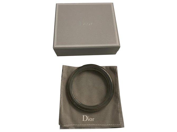 Bracelets Dior Bracelets Plastique Argenté ref.238809