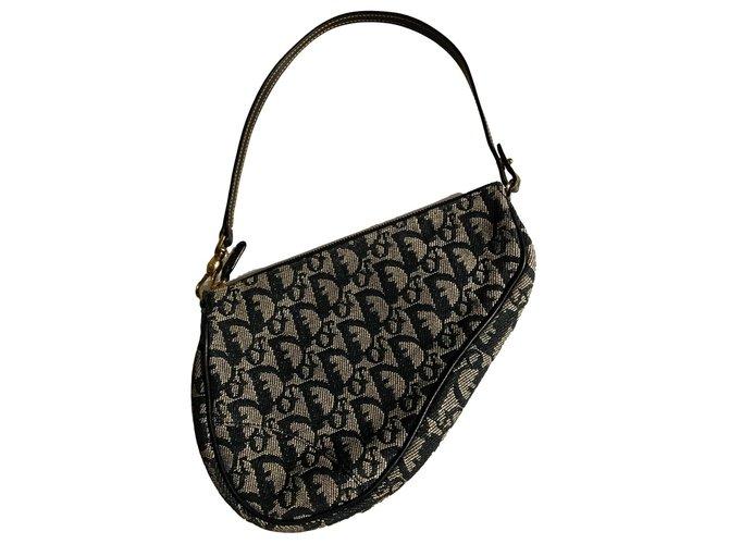 Dior Handbags Handbags Cloth Black ref.239093