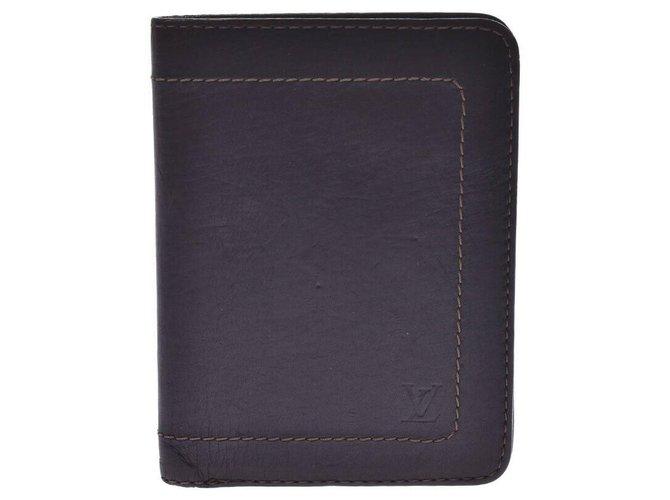 Louis Vuitton Louis Vuitton Utah Purses, wallets, cases Leather Brown ref.239604