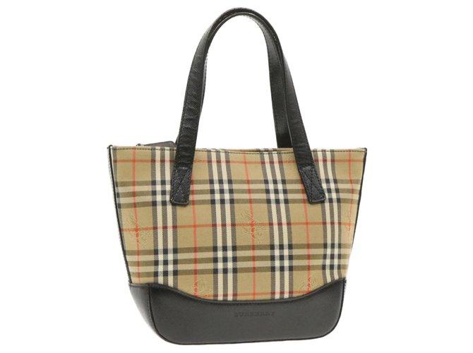 Burberry Burberry handbag Handbags Cloth Beige ref.239738