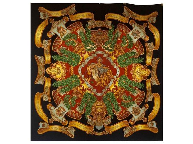 Hermès europe Silk scarves Silk Multiple colors ref.240049