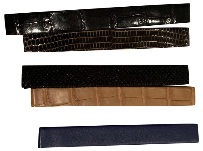 Montres Van Cleef & Arpels Belles montres Cuir Multicolore ref.240104