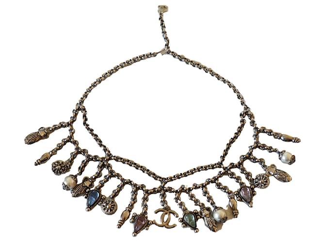 Chanel Necklaces Necklaces Metal Silver hardware ref.240222