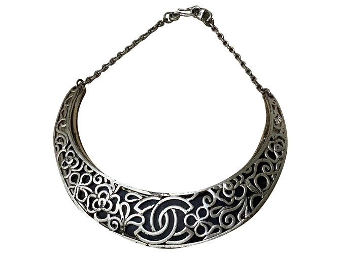 Chanel Necklaces Necklaces Metal Silvery ref.240998