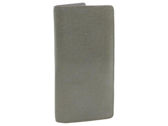 Louis Vuitton Louis Vuitton Brazza Purses, wallets, cases Leather Grey ref.242502