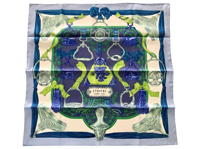 Hermès BRACKETS (Vintage silk) Multiple colors  ref.243043