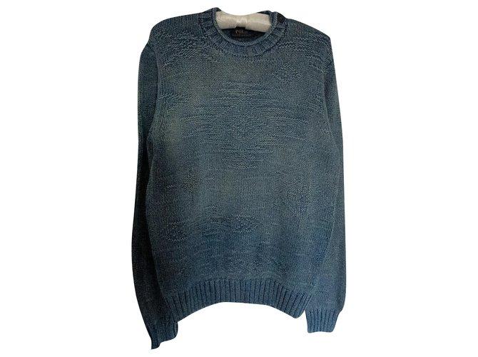 Polo Ralph Lauren Sweaters Sweaters Cotton Blue ref.243696