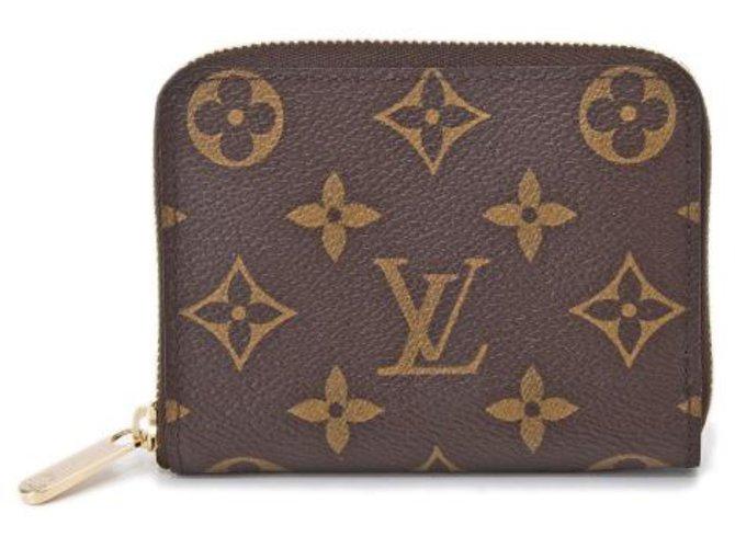Louis Vuitton louis vuitton m60067 Monogram Zippy Coin Purse Purses, wallets, cases Other Brown ref.243720